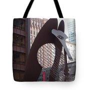 Daley Plaza Picasso Tote Bag