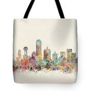 Dallas City Tote Bag