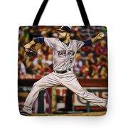 Dallas Keuchel Baseball Tote Bag