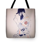 Dallas Keuchel Give Thanks Tote Bag
