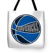Dallas Mavericks Retro Shirt Tote Bag