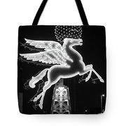 Dallas Pegasus Bw 121517 Tote Bag