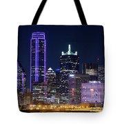 Dallas Purple Night 71417 Tote Bag