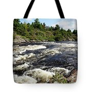 Dalles Rapids French River II Tote Bag