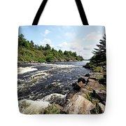 Dalles Rapids French River Iv Tote Bag