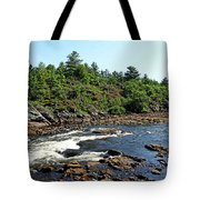 Dalles Rapids French River Ontario Tote Bag