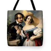 Dalliance Tote Bag