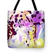 Dalmatian Dog Snow Bland And White  Tote Bag