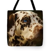 Dalmatian - Painting Tote Bag by Ericamaxine Price