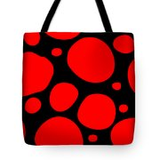 Dalmatian Pattern With A Black Background 02-p0173 Tote Bag
