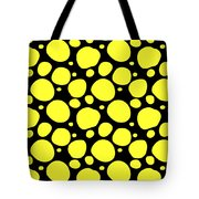 Dalmatian Pattern With A Black Background 05-p0173 Tote Bag