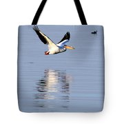 Salton Sea Flight Photograph Tote Bag