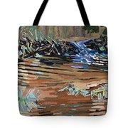 Dam Beavers Tote Bag by Phil Chadwick