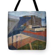 Dam Museum Tote Bag by Erin Fickert-Rowland