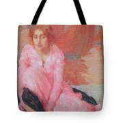 Dame En Rose Tote Bag
