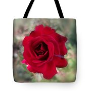 Dame En Rouge Tote Bag