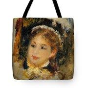 Dame En Toilette De Ville 1875 Tote Bag