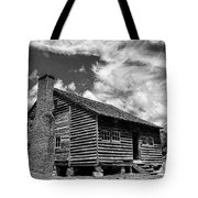 Dan Lawson Place With Brick Chimney Tote Bag
