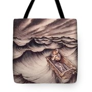 Danae And Her Son Perseus Put In A Chest And Cast Into The Sea Tote Bag