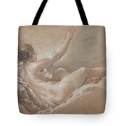 Danae Receiving The Golden Shower Tote Bag