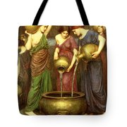 Danaides Tote Bag by John William Waterhouse