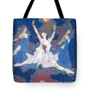 Dance Abstract In The Mix Tote Bag