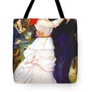 Dance At Bougival 1883 Tote Bag
