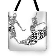 Dance Beauty Tote Bag