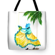 Dance De Belaire Tote Bag by Karin  Dawn Kelshall- Best