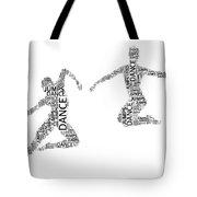 Dance Duo Tote Bag