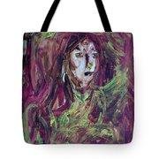 Dance Hall Girl Tote Bag