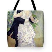Dance In The City Tote Bag by Pierre Auguste Renoir