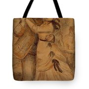 Dance In The Country 1883 Tote Bag