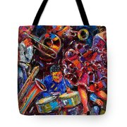 Dance Latino Tote Bag
