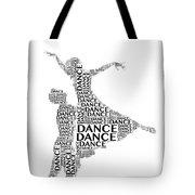 Dance Lift Tote Bag