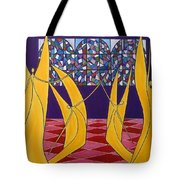 Dance Of Angels Tote Bag