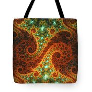 Dance Of Flames Tote Bag