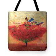 Dance Of Happiness Tote Bag