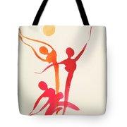Dance Of Joy Tote Bag