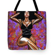 Dance Of Textures  Tote Bag