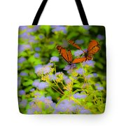 Dance Of The Butterflies Tote Bag