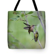 Dance Of The Calliopes Tote Bag
