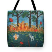 Dance Of The Dragonfly. / The Best Is Yet To Come. Tote Bag