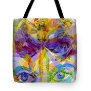 Dance Of The Rainbow  Tote Bag