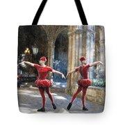 Dance Of The Swiss Guard Tote Bag