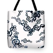 Dance Of The Treble Clef  Tote Bag
