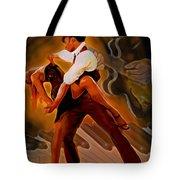 Dance Scene Xv Tote Bag