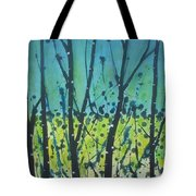 Dance Shadow Tote Bag
