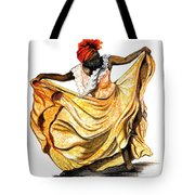 Dance The Belair Tote Bag