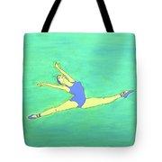 Soaring Dancer By Ken Tesoriere Tote Bag